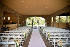 Many different options for the ceremony, cocktail hour and reception!