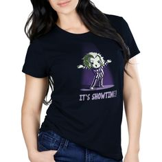 e574d500 It's Showtime! - This official Beetlejuice t-shirt featuring Beetlejuice is  only available at