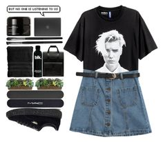 """""""biebs is my main."""" by zorionxx ❤ liked on Polyvore featuring Chicnova Fashion, Puma, MAC Cosmetics, SONOMA Goods for Life, Biltmore, Dr. Martens, Illamasqua, Kahina Giving Beauty and Incase"""