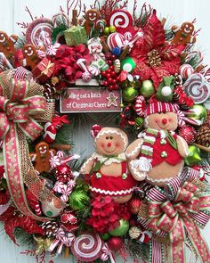 christmas wreath ~ how cheerful