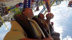 Robb and Banks Ride Air Race at Fun Spot Orlando