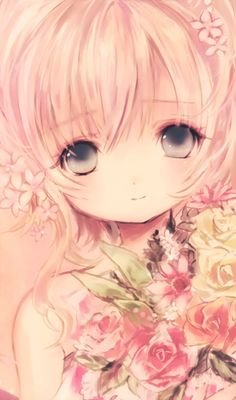 anime girl :) - cute