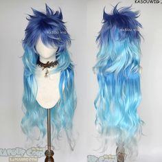 Anime Wigs, Anime Hair, Cosplay Hair, Cosplay Wigs, Hair Dye Colors, Cool Hair Color, Kawaii Hairstyles, Cute Hairstyles, Pastel Wig