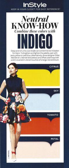 InStyle Magazine neutral know-how - INDIGO