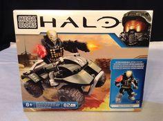 NEW Mega Bloks HALO #97339 UNSC All-Terrain Mongoose 82 pcs w/ Spartan Emile #MegaBloks