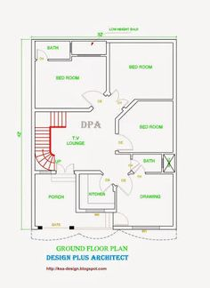 30x60 House Plan G 15 Islamabad House Map And Drawings