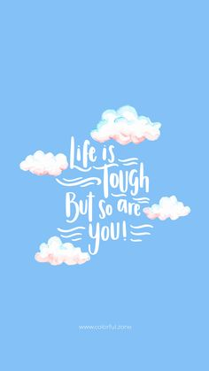 Discover recipes, home ideas, style inspiration and other ideas to try. Motivacional Quotes, Blue Quotes, Happy Quotes, Words Quotes, Positive Quotes, Wisdom Quotes, Happy Wallpaper, Words Wallpaper, Motivational Quotes Wallpaper