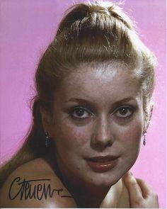 Catherine Deneuve Gorgeous Amazing Signed Authentic Autographed 8x10 Photo COA | eBay