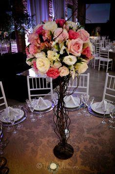centro de mesa alto - atelier 16 - cores fofas