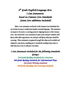 Spectrum language arts grade 2 repost free ebooks download 6th grade ela common core student i can statements fandeluxe Images