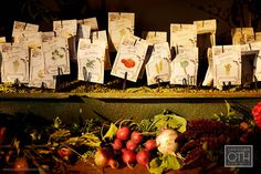 Names on seed packets ~ love it!  I can do this for you, go here to ask me how  www.writeawayforyou.com