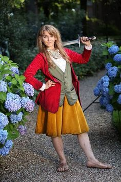 Female Bilbo. Need to remember this when the Desolation of Smaug comes out                                                                                                                                                                                 More