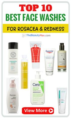 Are you looking for the best face wash for rosacea or redness? We've researched and tested some of best face washes design for for Rosacea. Check out Our Top 10 picks here. Click the picture to find out more. Best Organic Face Wash, Best Face Wash, How To Wash Face, Redness On Face, Acne Face Mask, Best Acne Treatment, Best Facial Cleanser, Face Cleanser, Beauty