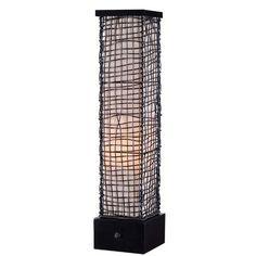 Kenroy Home Trellis 1 Light Outdoor Table Lamp Bronze 32249BRZ