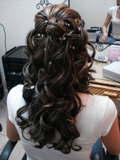 Wedding Hairstyles Half Up Half Down Curls