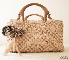132 Fantastiche Immagini Su Manici Per Borse Bag Handles Crochet