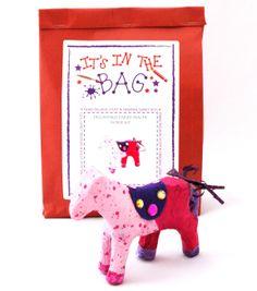 Decoupage Papier-Mache Horse: craft activity bag - The Supermums Craft Fair