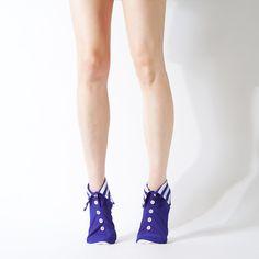 W杯モデル WHITE / ROYAL BLUE(メンズ&レディース) - ERIMAKI SOX   エリマキソックス Erimaki Sox Socks