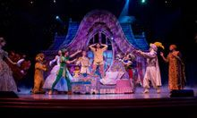 Disney Dreams – An Enchanted Classic is an award-winning, 50-minute musical live show celebrating the value of dreams, starring some of your favorite Disney Characters. It plays at approximately 6:15 p.m. and 8:30 p.m. aboard the Disney Magic.