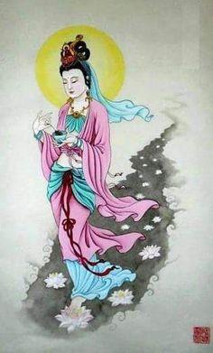 """Mensaje de Kwan Yin para ti, lunes 6/3/17 """"Siembra con tu ejemplo esta tierra, acoge en tu Corazón el mensaje que te envío hoy. Despide para siempre la necesidad de complacencia. No has encar…"""