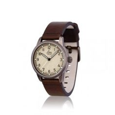 71d8d28b2fe6 Reloj Mujer Laco Used Look Marron Cristal Zafiro