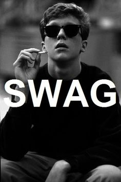 "Breakfast club :)> I can dig it. I don't support drug use...but I'd prefer this character to be defined as ""swag."" If that makes sense."