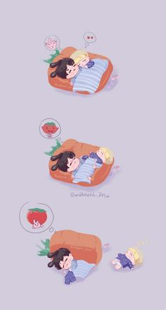 Just a whole bunch of jikook fanart that I DO NOT OWN. There will probably by fluff in the art and some smut 😏 hehe. But I will also try to translate like if it's in Korean I will try to translate it to English 💛❤️ Gonna publish every day 😁 or maybe