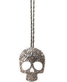 Retro Skull Necklace