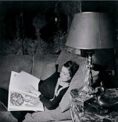 Coco Chanel in 1937 in her apartment above her Rue Cambon atelier