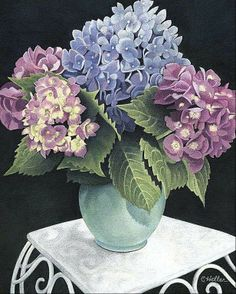 Colored Pencil Art stilllife | Three-way split: Multiple mediums on view at Glenview