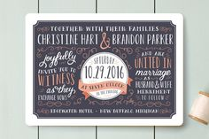 Serendipity Wedding Invitations