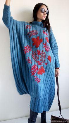 Knitwear Fashion, Knit Fashion, Wool Dress, Knit Dress, Chunky Knitwear, Summer Knitting, Overall, Knitting Designs, Mom Style