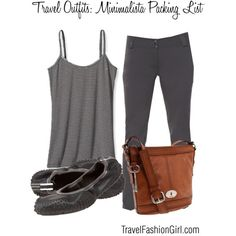 6 Piece Minimalista Packing List Travel Outfit Ideas #travel #fashion #minimalist #packinglist