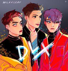 Exo Anime, Exo Fan Art, Xiuchen, Exo Do, Exo Memes, My Little Baby, Kpop Fanart, Chanbaek, Chanyeol