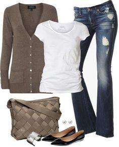LOLO Moda: Fabulous Women Outfits.... it needs a different color shoe
