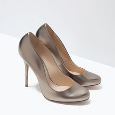ROUND-TOE COURT SHOES-Shoes-Woman-SHOES & BAGS | ZARA Romania