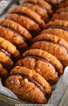 For those of you who do not know what a Kingston is, they're two, sweet, crisp, coconut biscuits with a layer of chocolate ganache sandwiched between them. Easy Cookie Recipes, Cookie Desserts, Sweet Recipes, Baking Recipes, Dessert Recipes, Biscuit Bar, Biscuit Cookies, Sandwich Cookies, Coconut Biscuits