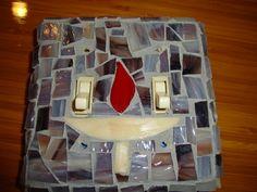unitarian universalist chalice art | Unitarian Universalist Chalice Stained Glass Mosaic Dual Toggle Light ...