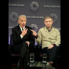 Martin at the Paley Center NYC for the Fargo panel (4-11-14)