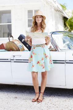 Hello, Lovely! Spring 2015: Natural Beauty Skirt