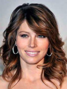 Dark brown hair with caramel highlights. #Hair #Beauty #Brunette Visit Beauty.com for more.