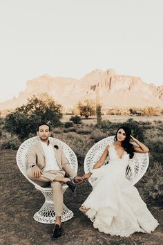 Spanish Inspired Real Wedding with Tremaine Ranch in Arizona -Wedding & Event - Vintage, Furniture, Tableware, & Specialty Rentals