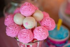 Festa Princesas hoje no blog, um clássico de decoração.  Umafesta com muitas ideias fofas!!!  Imagens retiradas do site Catch my Party .  ...