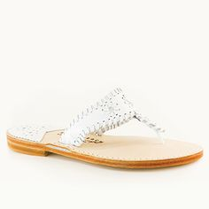 The Classic from Palm Beach Sandals Classic White, White White, Palm Beach Sandals, How To Look Pretty, Espadrilles, Pure Products, Leather, Gifts, Shoes