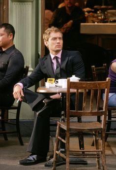 Jude Law drinking #tea.