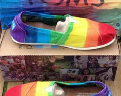Love theses, all though I would choose a brand other than Toms supports anti gay causes
