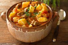 Potato stew (Yakhnet batata)