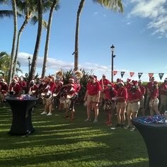 #Bulldogs pep rally. Rah rah! The band went snorkeling yesterday.