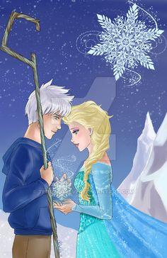 Jack and Elsa - Snowflake by TerraForever on DeviantArt