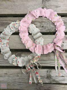 fikOu miKou Baby Couture, All Things, Liberty, Floral Wreath, Wreaths, Frame, Home Decor, Scrappy Quilts, Flower Crowns